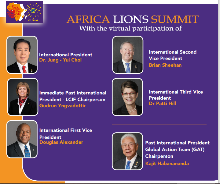 Africa Lions Summit, 8TH-10TH APRIL, 2021